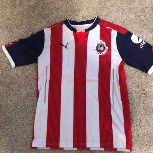 meet 7bd5d d0ab1 Chivas soccer Kit size medium with Liga MX patch